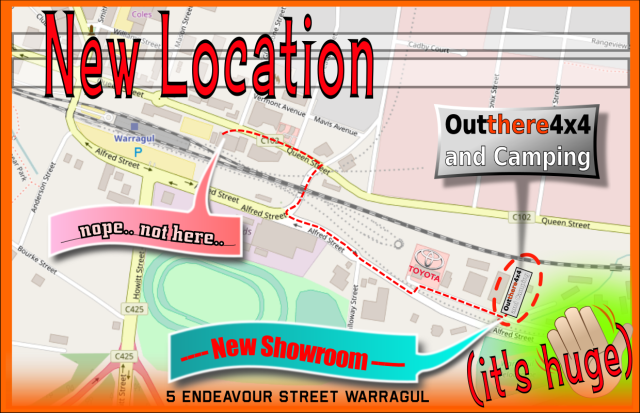We have moved to 5 Endeavour street, Warragul VIC 3820