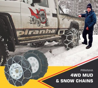 Piranha snow chains